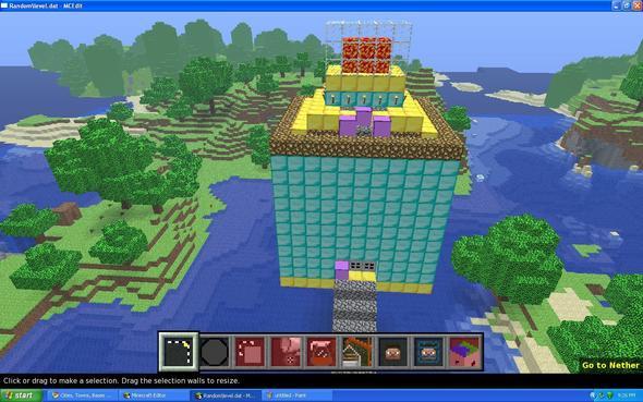 Diamond/Gold/Iron Mini-Castle!