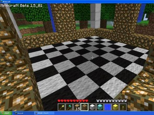 Mini Spleef/Chess/Fountain Thingy!