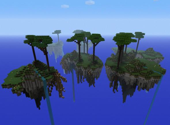 Floating Islands (from my tutorial)