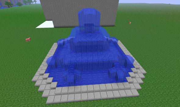 Water Fountain 22X22X12