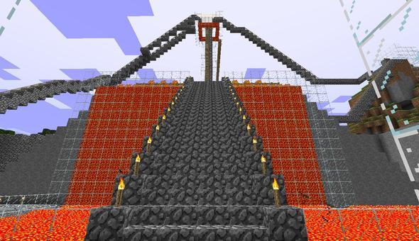 Epic Lava Fortress
