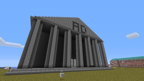 Pantheon-esk Temple