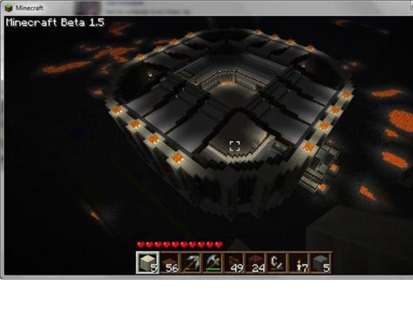 Spartacus inspired Gladiator Arena