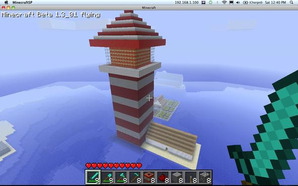 Large Lighthouse, REALISTIC
