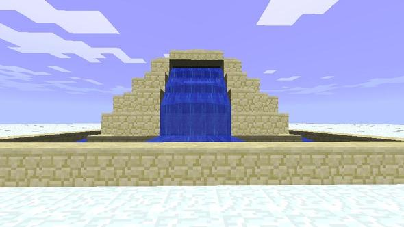 Sandstone Town Center Fountain