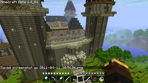 Fortified Manor thing (sort of made up as i built it)