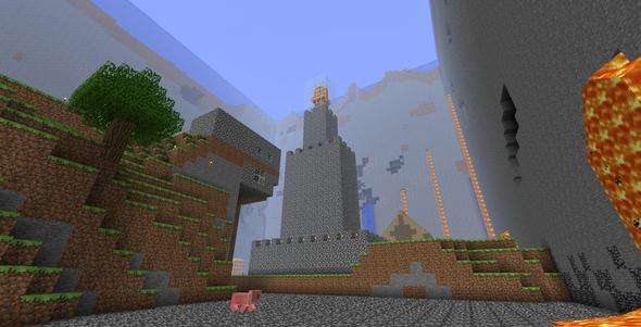 Lava Light Castle